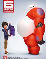 6 Süper Kahraman Full Film izle