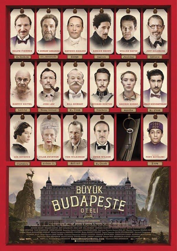 Büyük Budapeşte Oteli Türkçe HD Film izle