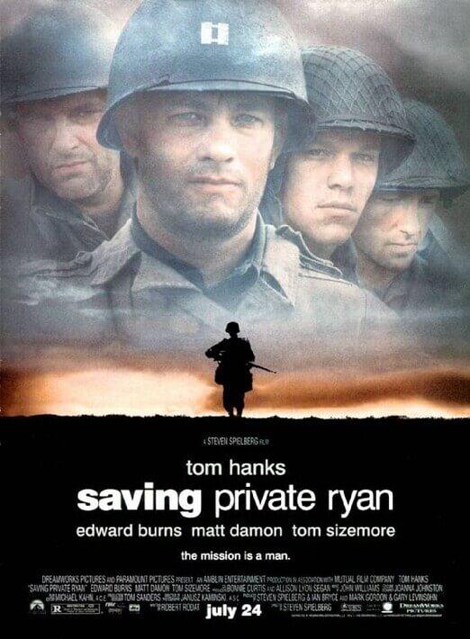 Er Ryan'ı Kurtarmak Full Film HD izle