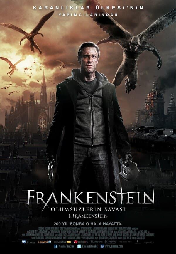 Frankenstein: Ölümsüzlerin Savaşı Full Film izle