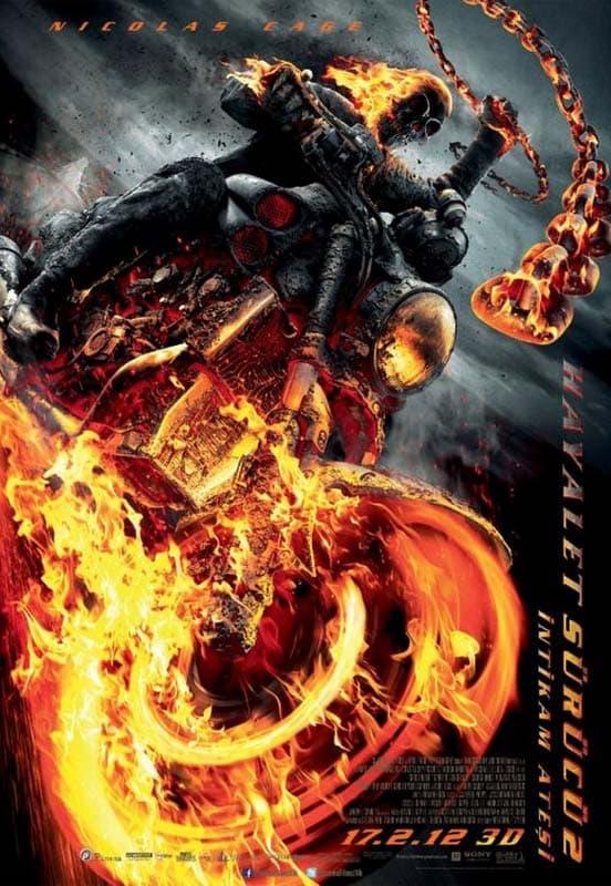 Hayalet Sürücü 2: İntikam Ateşi Full Film izle