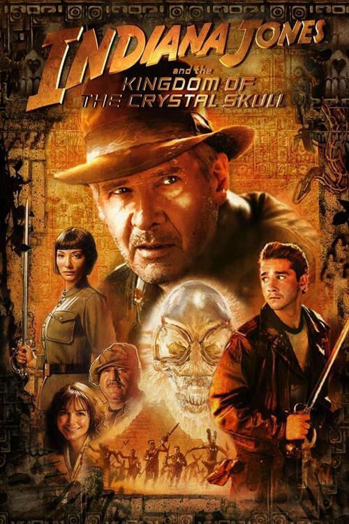 Indiana Jones 4: Kristal Kafatası Krallığı Full Film izle