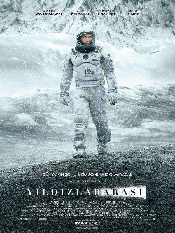 Yıldızlararası – Interstellar Full Film HD izle